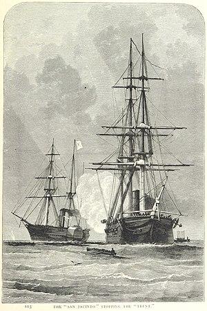 RMS Trent - Image: Trent and San Jacinto