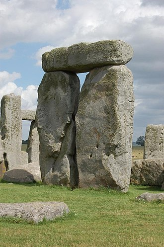 Megalithic architectural elements - A trilithon at Stonehenge