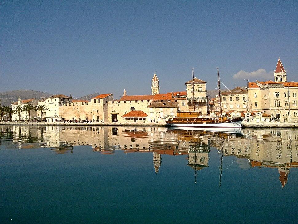 Trogir from island