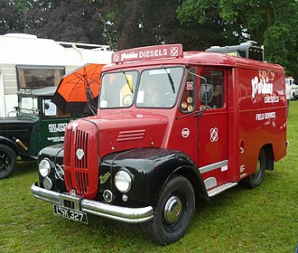 Trojan (automobile) - 1950s diesel van, with Perkins engine and operated by Perkins themselves