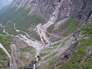Trollstigen - Trollstigen after modifications in 2005