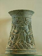 Tronconical vase Tepe Giyan Louvre AO31918