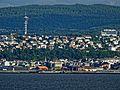 Trondheim vom Schiff aus gesehen. 06.jpg
