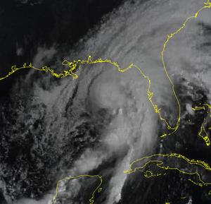 Tropical Storm Josephine (1996) - Image: Tropical Storm Josephine 1996 10 07 1500Z