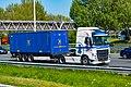 Truck Spotting on the A16 Direction Zwijndrecht 19 04 2019.... Not the Best spot with the Barrier , But better than Nowt . (46920034834).jpg