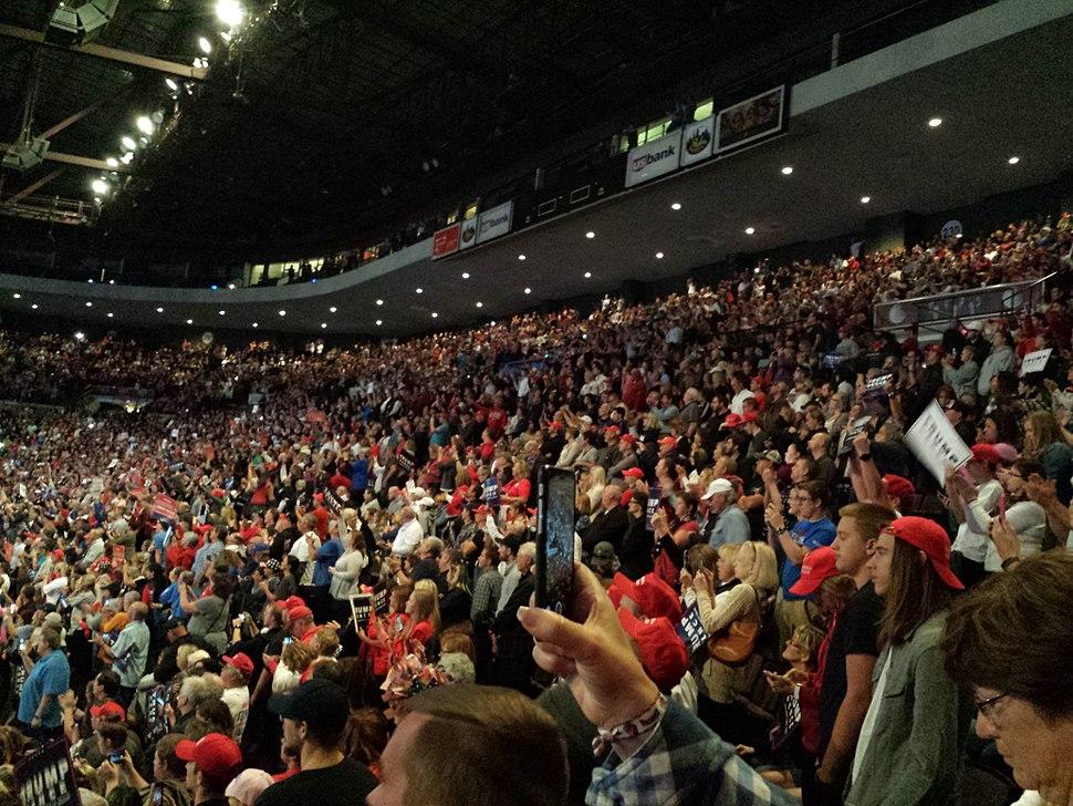 Trump Rally in Cincinnati