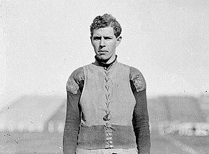 1898 College Football All-America Team - Penn guard Truxtun Hare also won the silver medal in the hammer throw in the 1900 Summer Olympics.