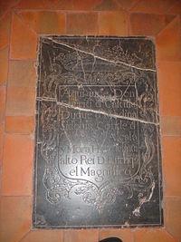 Tumba de Enrique de Castilla, duque de Medina Sidonia e hijo ilegítimo de Enrique II de Castilla (Mezquita-catedral de Córdoba).JPG