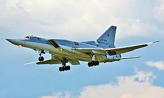 Tupolev Tu-22M Russian long-range supersonic strategic bomber