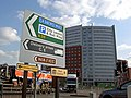 Turn left for Birmingham City centre - geograph.org.uk - 1732427.jpg