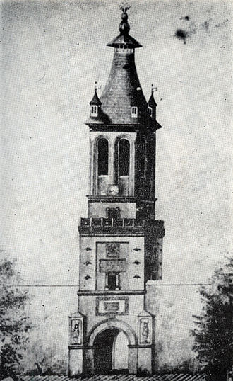 Turnul Colței - Turnul Colţei, before 1802