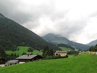 Rußbach am Paß Gschütt - Image: Tussen Russbach en Lindenthal, panorama foto 2 2011 07 28 13.32