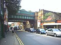 Twin railway bridges over Garratt Lane at Earlsfield Station. - geograph.org.uk - 21245.jpg