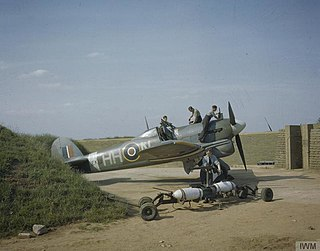 Hawker Typhoon family of piston-engined fighter aircraft