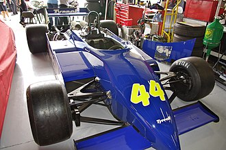 Tyrrell 011 - Image: Tyrrell 011 at Silverstone Classic 2011 (1)