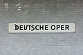 U-Bahnhof Deutsche Oper, Stationsschild 20141110 4.jpg