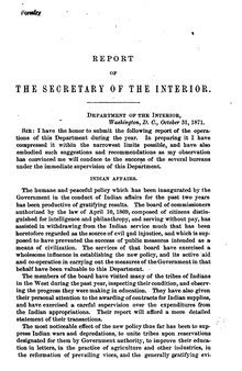 U.S. Department of the Interior Annual Report 1871.djvu