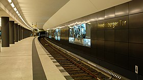 Image illustrative de l'article Brandenburger Tor (métro de Berlin)