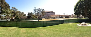 University of California Libraries - Davidson Library at UCSB is undergoing major renovations as of 2013.