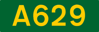 A629 road