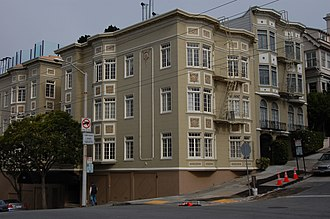 Union Street (San Francisco) - Houses on Union Street