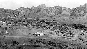 Santa Rita Mountains - Image: USGS Helvetia 1909 sfc 01561