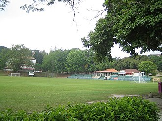 University of Science, Malaysia - The football field on USM main campus