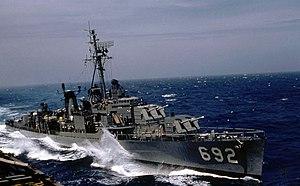 USS Allen M. Sumner - USS Allen M. Sumner (DD-692) in 1959.