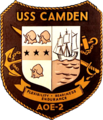 USS Camden (AOE-2) insignia, 1967.png