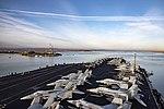 USS Dwight D. Eisenhower conducts a routine, scheduled transit through the Suez Canal. (30615316384).jpg