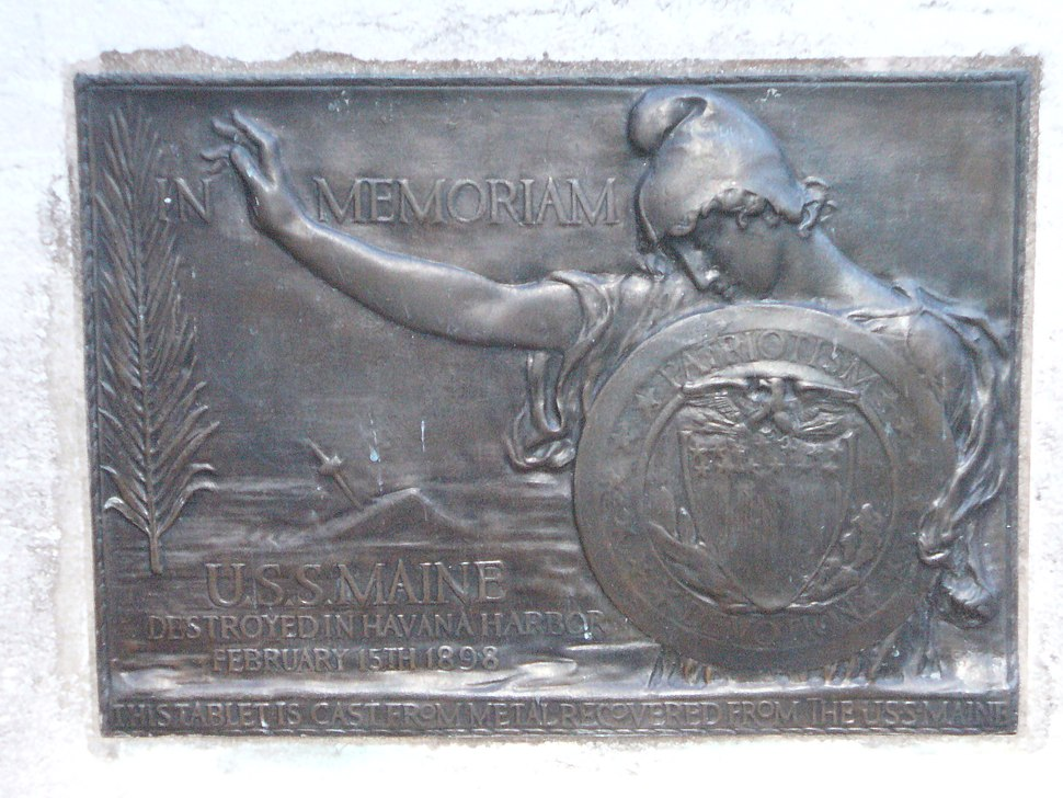 USS Maine Monument (1913), New York City (P1000111)