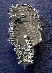 U.S. Navy supercarrier USS Nimitz (CVN-68)