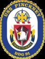 USS Pinckney DDG-91 Crest.png