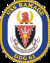 USS Ramage (DDG-61) crest.png