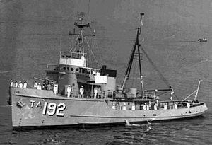 Sotoyomo-class tugboat - Image: USS Tillamook (ATA 192)