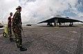 US Air Force 050406-F-1740G-007 Airmen help improve B-2 aircraft maintenance in Guam.jpg