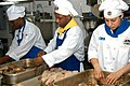 US Navy 040315-N-9860Y-022 Culinary Specialists prepare lobster for a special dinner celebration after winning the 2003 NEY food service competition aboard USS Blue Ridge.jpg