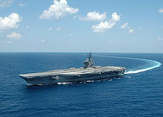 USS <i>Dwight D. Eisenhower</i> Aircraft carrier of the United States Navy