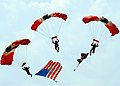 US Navy 060909-N-6380D-137 The British Army Red Devils parachute into the 2006 Naval Air Station Oceana Air Show.jpg