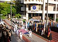 US Navy 090911-N-6326B-038 Sailors assigned to Naval Medical Center San Diego (NMCSD) parade the national ensign during a Sept. 11 remembrance ceremony.jpg