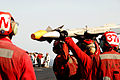 US Navy 100109-N-3327M-116 Aviation Ordnancemen upload ordnance onto an F-A-18C Hornet.jpg