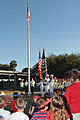 US Navy 101109-N-8102J-028 Members of the Naval Station Mayport Color Guard participate in a Veteran's Day ceremony at San Pablo Elementary School.jpg
