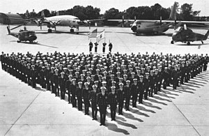 VXE-6 - VXE-6 personnel and aircraft in 1970.