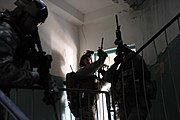 US Special Forces soldiers conduct hostage rescue drills in Germany