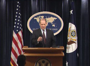 US government spokesperson discussing Lebanon on May 9, 2008