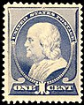 US stamp 1887 1c Franklin.jpg
