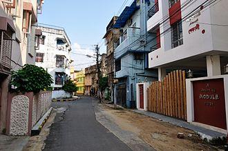 Uday Shankar - The Uday Shankar Sarani at Tollygunge area of Kolkata.
