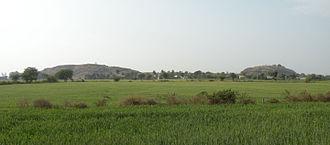 Udayagiri Caves - Udayagiri hills from the east