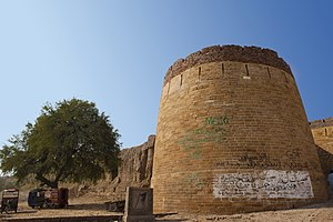 Rajput - Amarkot Fort built by Rana Amar Singh in present-day Sindh, Pakistan