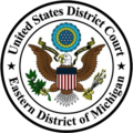 Seal of the United States District Court for the Eastern District of Michigan